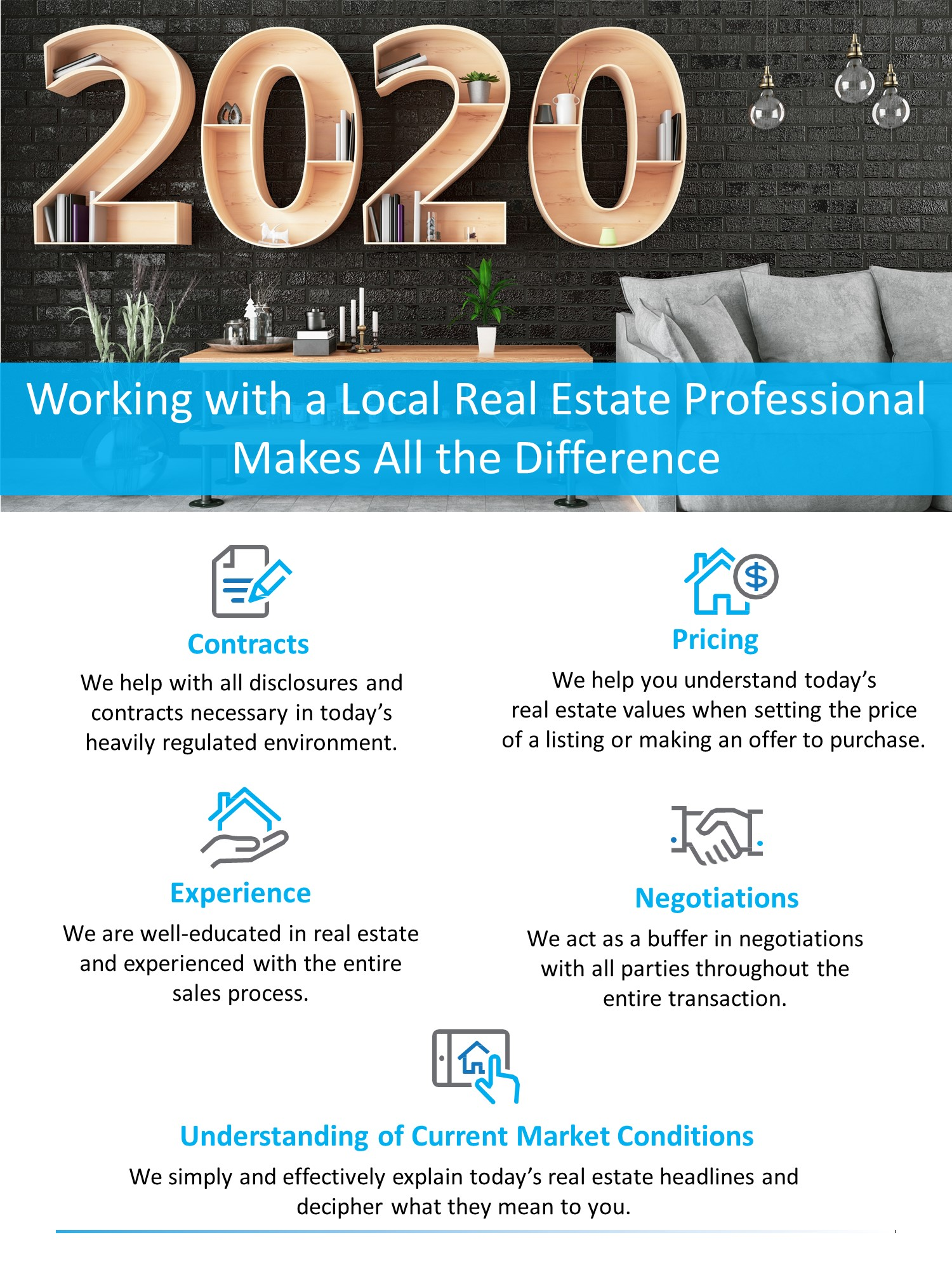 Working with a Local Real Estate Professional Makes All the Difference [INFOGRAPHIC]   Simplifying The Market