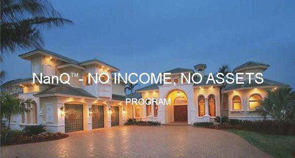 NanQ-No Income-No Assets